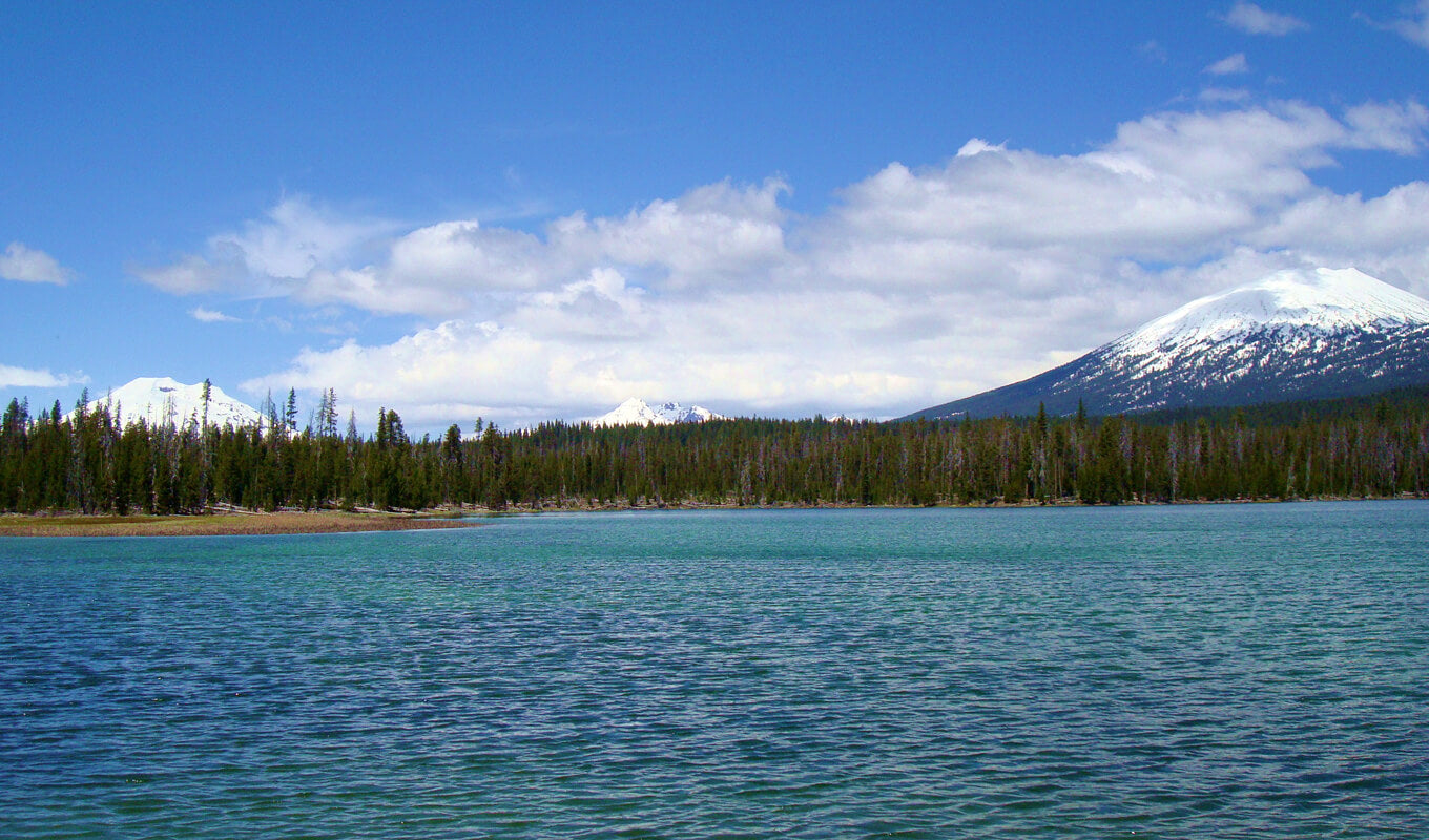 Newberry National Volcanic Monument East Lake
