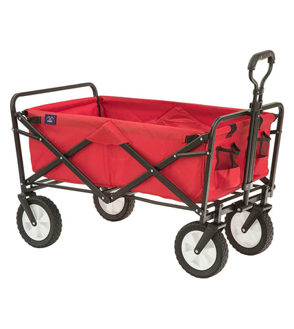 MacSports Collapsible Folding Outdoor Utility Wagon
