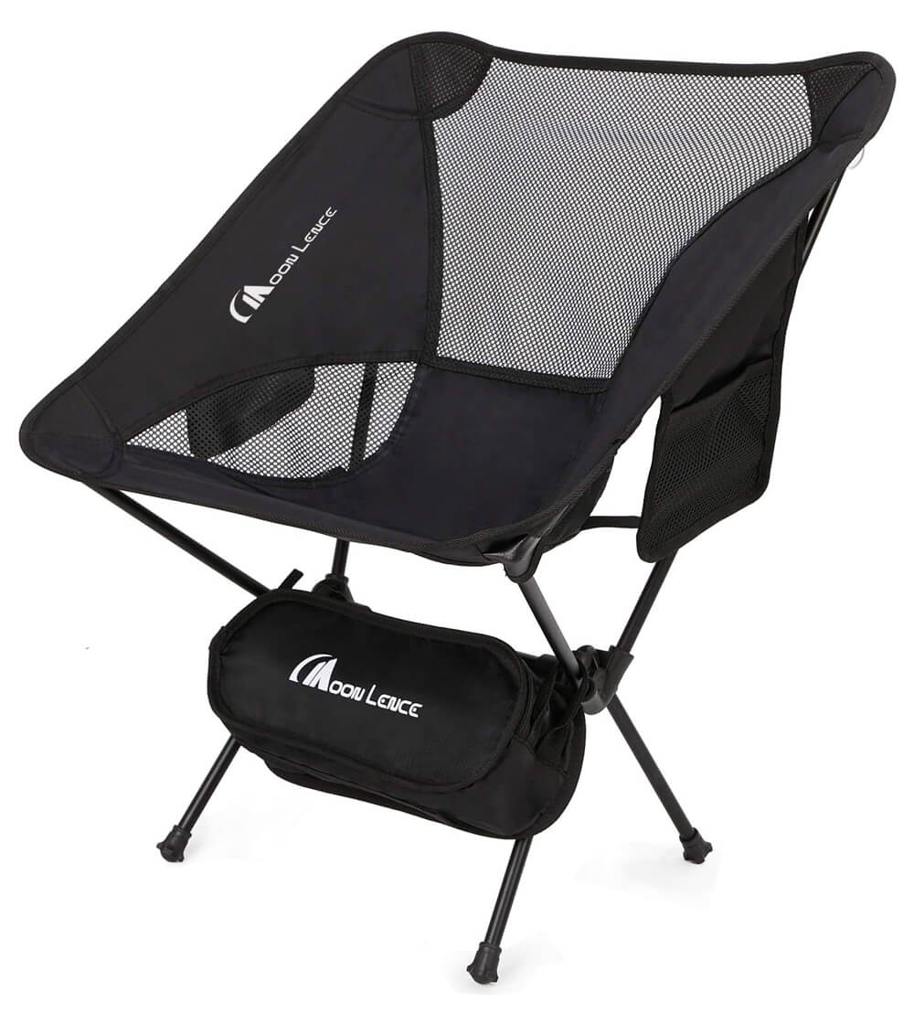 Moonlence Outdoor Ultralight Portable Folding Chairs