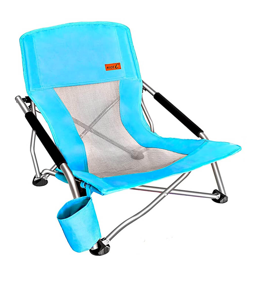 Nice C Low Beach Camping Folding Chair