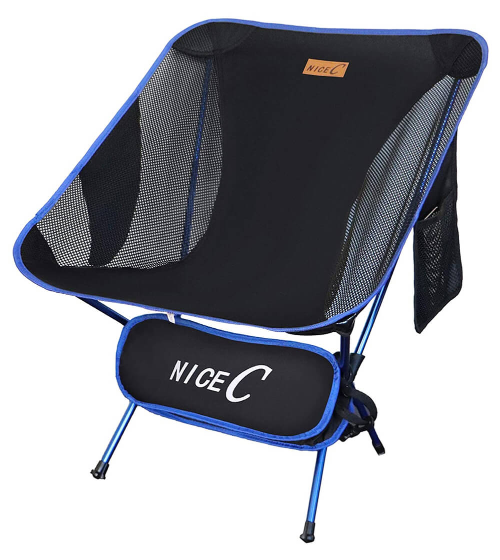 Nice C Ultralight Portable Folding Camping Chair