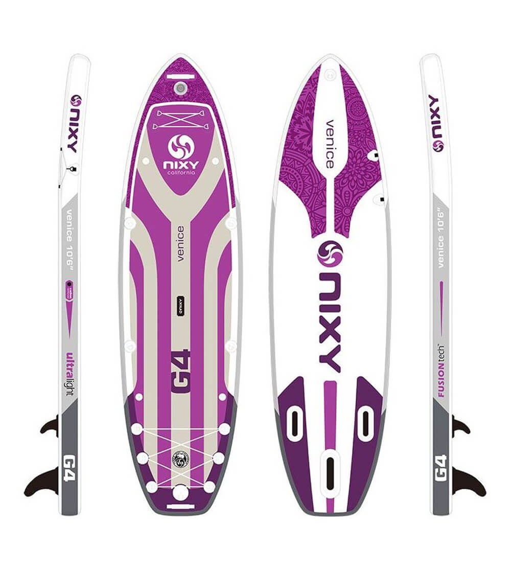NIXY venice yoga SUP board for side plank