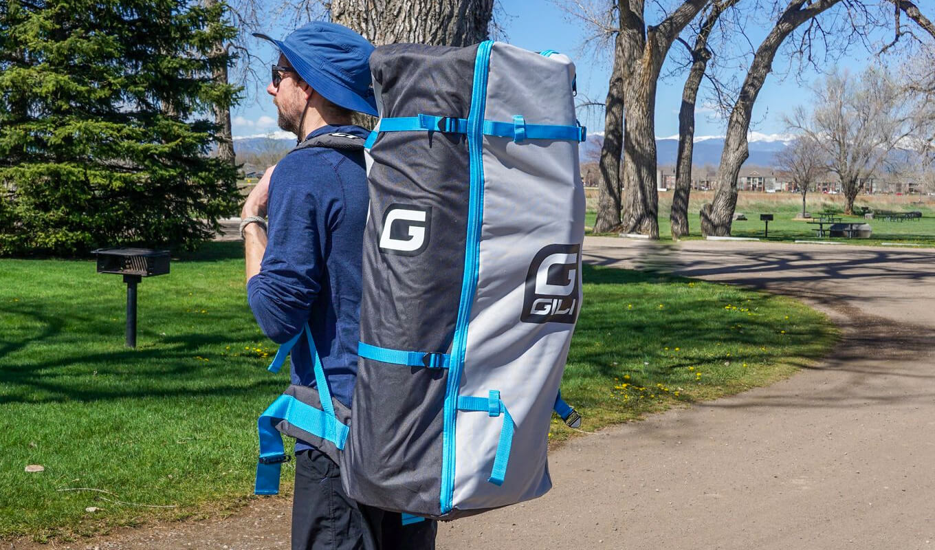 How to take care of a paddle board bag