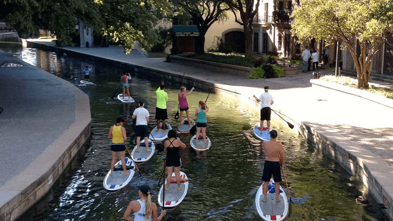 Paddle board dallas - lake carolyn