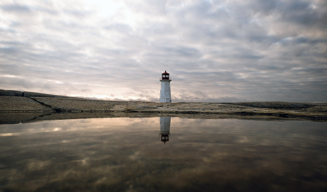 Lighthouse at Peggy's Cove canada