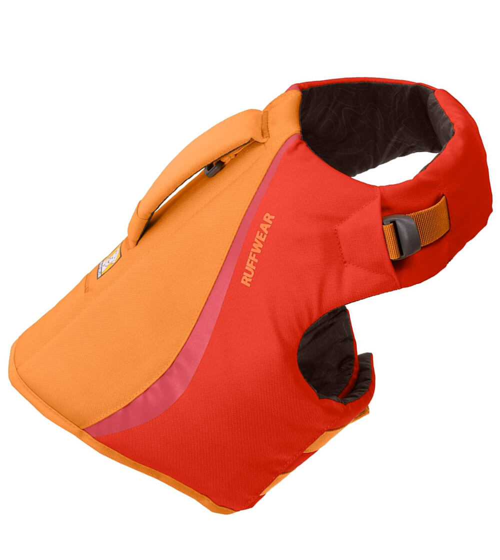 Ruffwear float coat life jacket for small active dogs