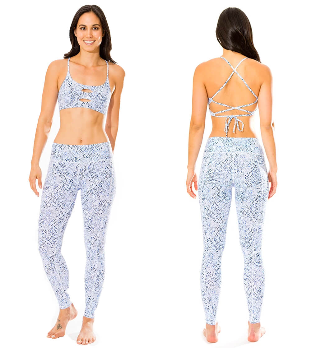 Claire top cross back straps