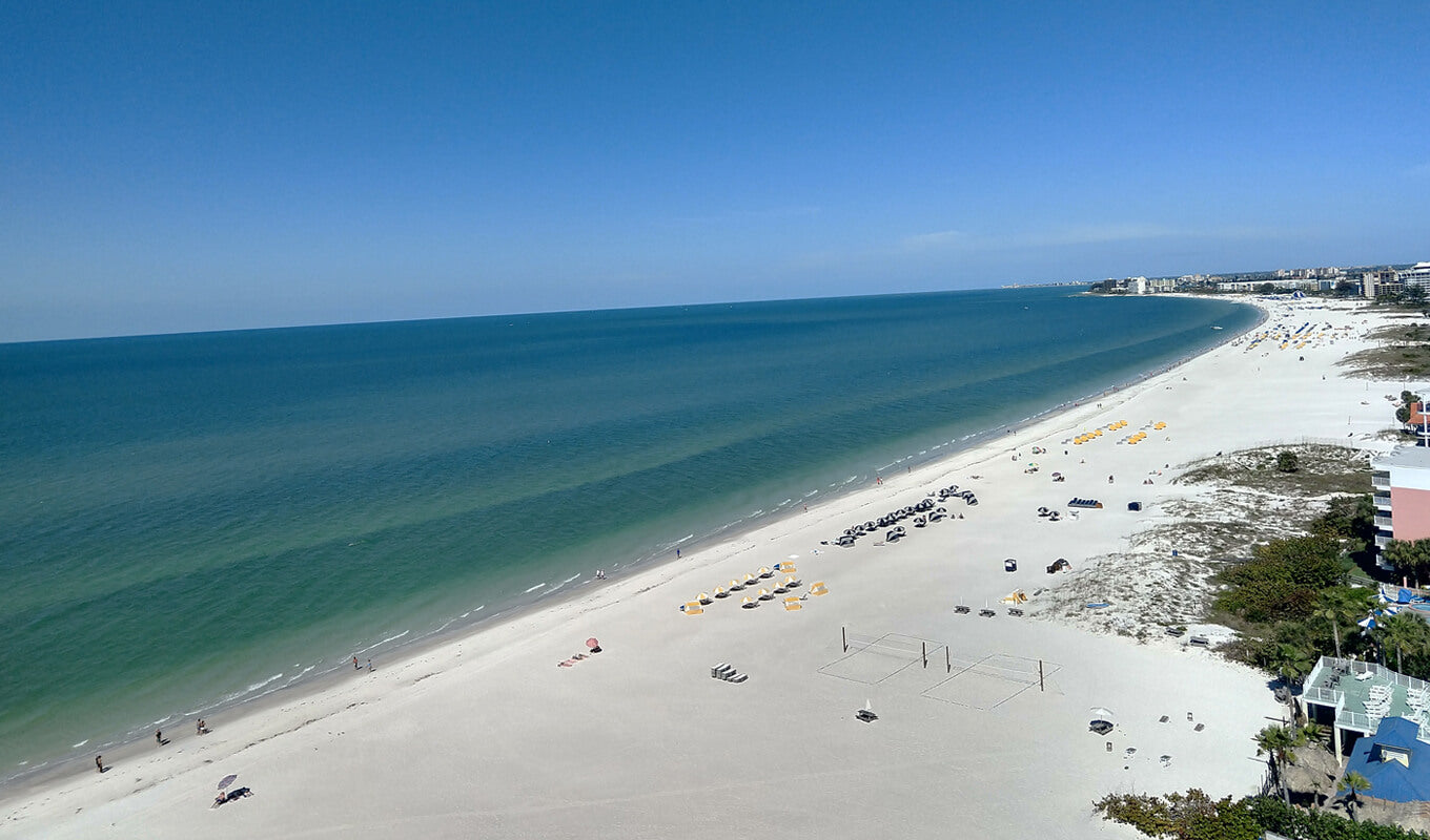 St pete beach clear waters tampa florida