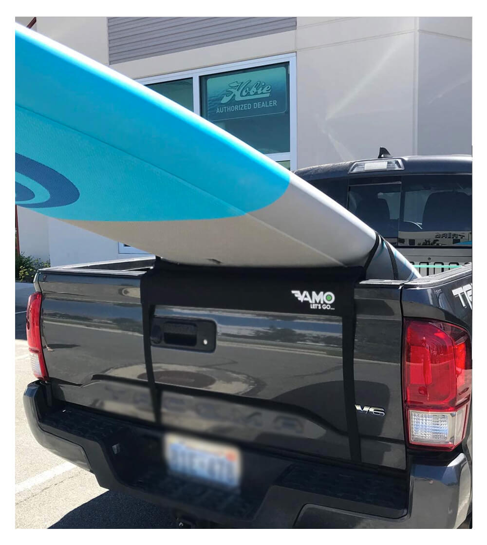Vamo Longboard SUP Stand Up Paddle Board Truck Tailgate Surf Pad