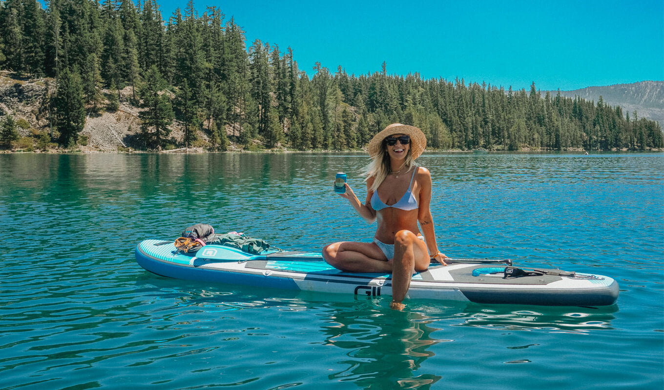Vitamin D health benefits of paddle boarding