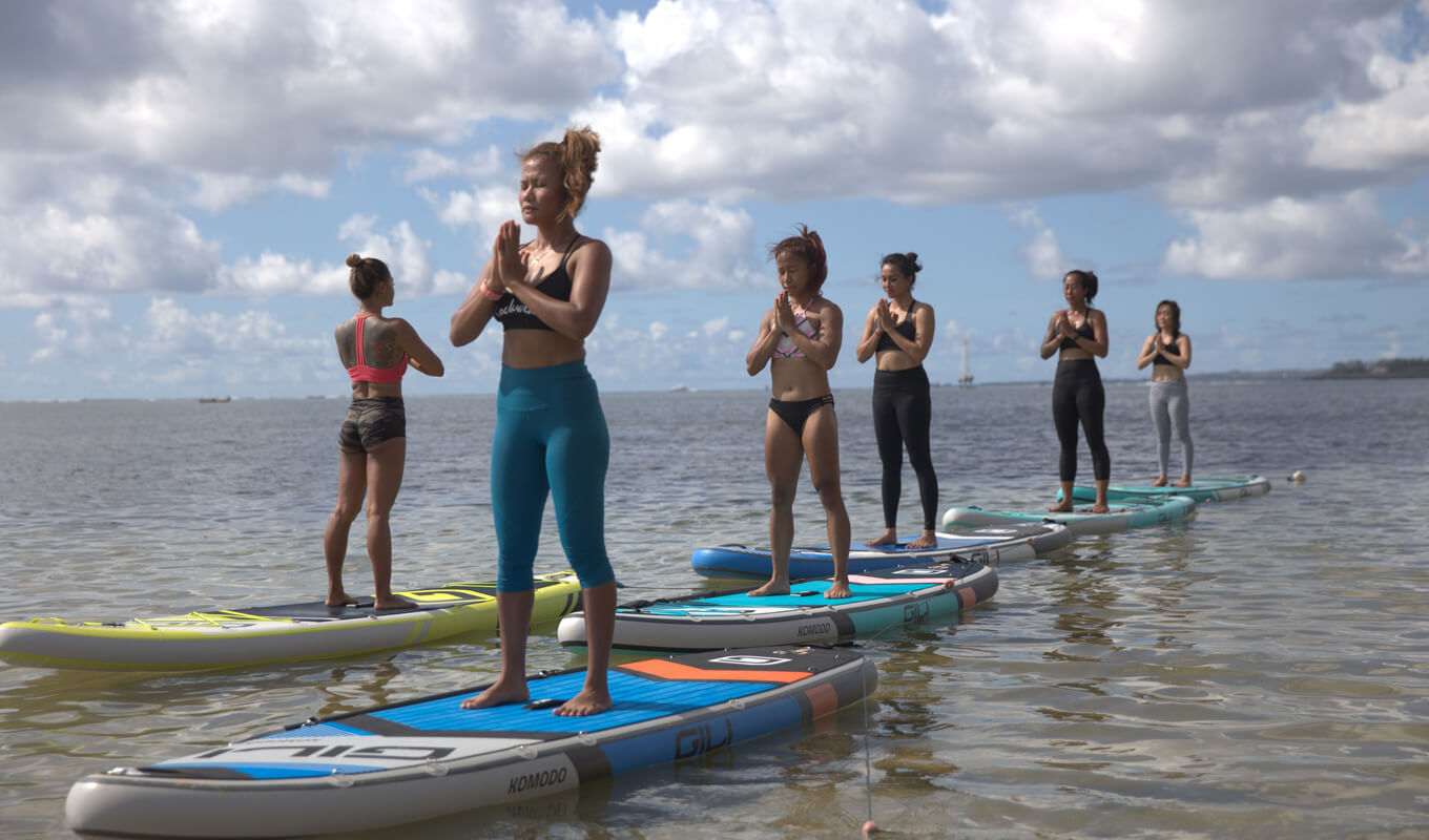 Best Basic SUP yoga poses