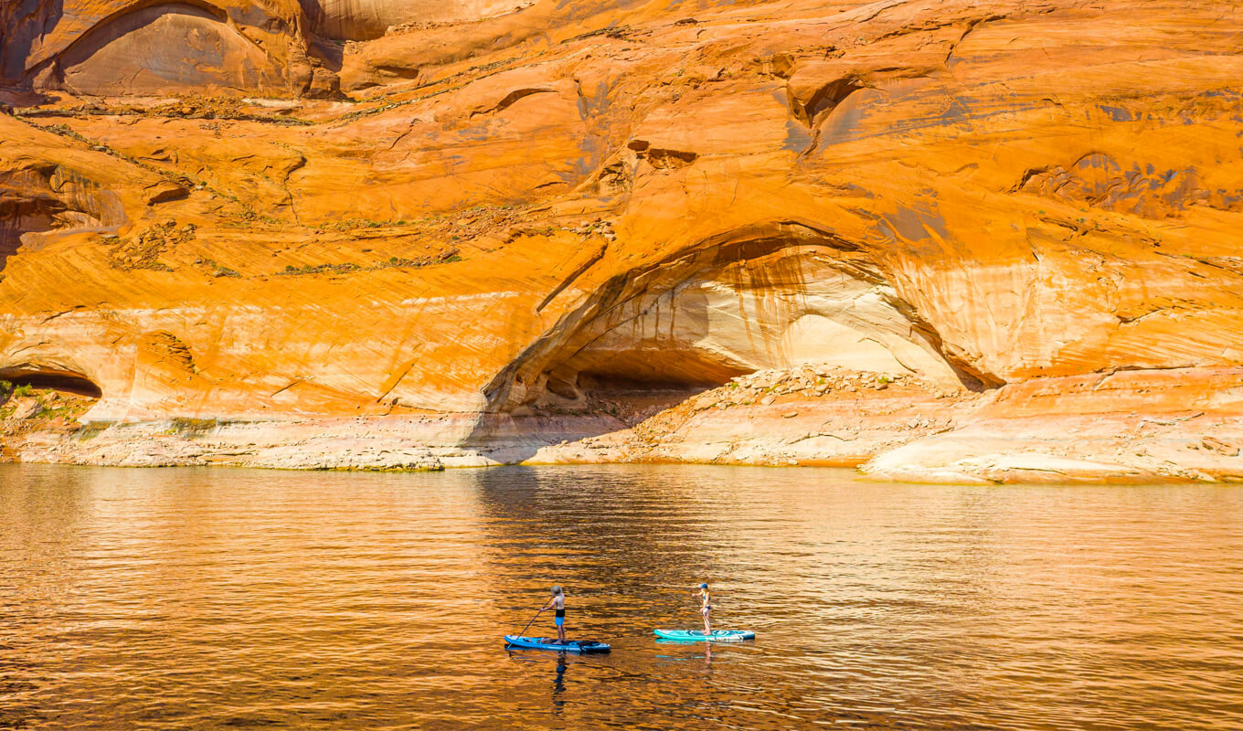 Best place to paddle board in lake