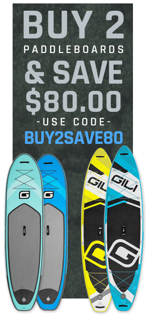 Buy 2 GILI Paddle Boards Save $80.00