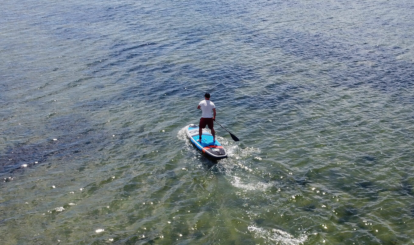 Can you lose weight paddle boarding?