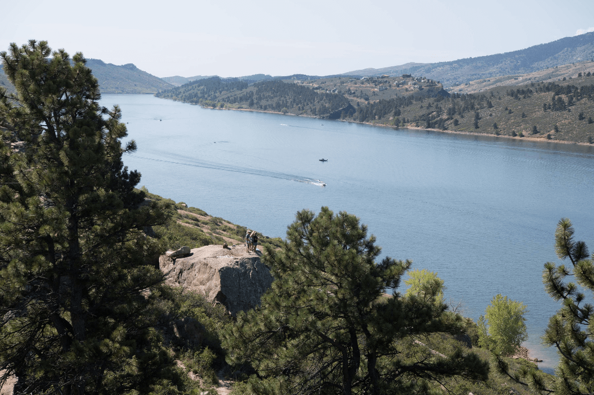 SUP horsetooth reservoir