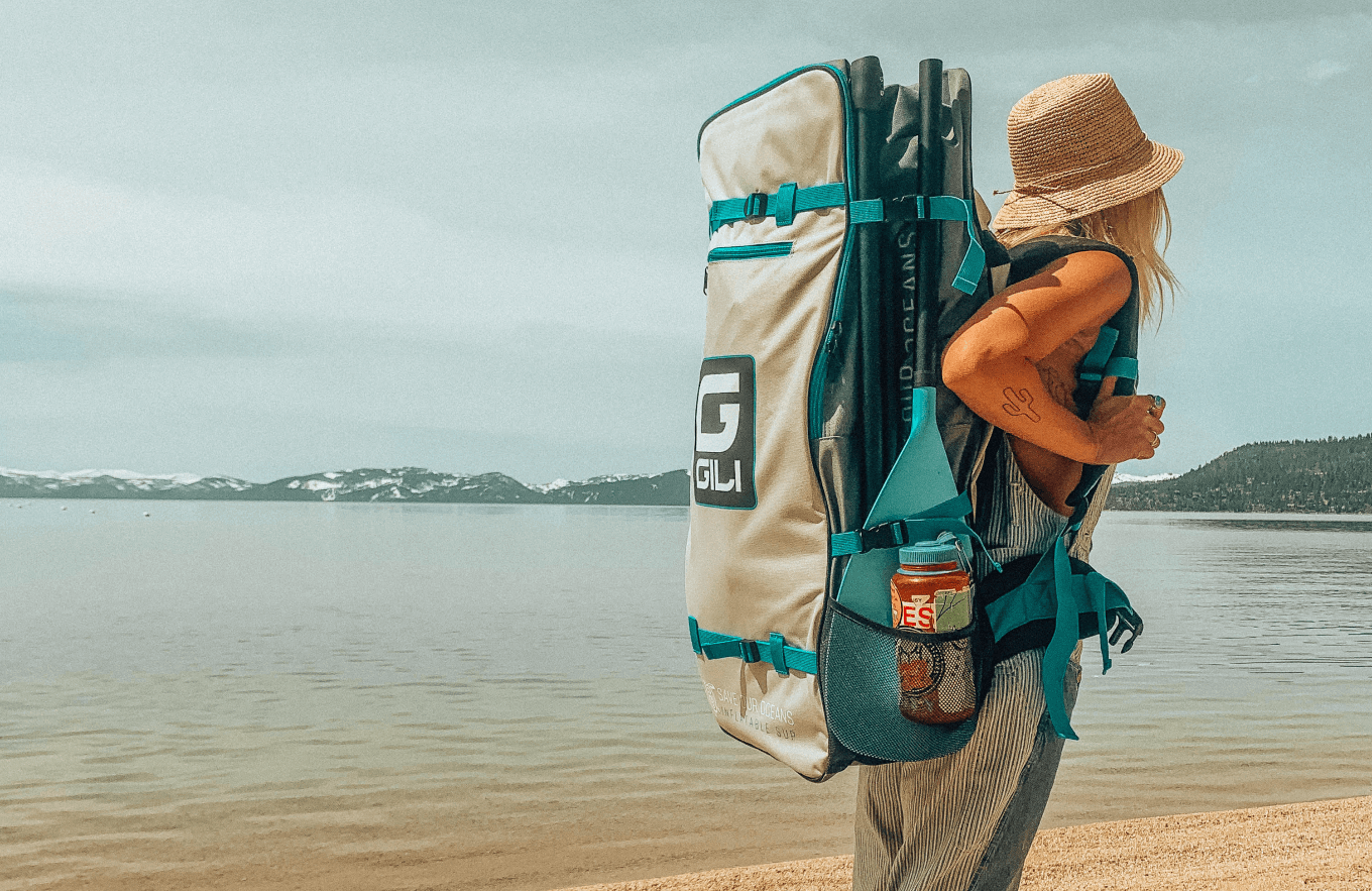 stand up paddle board travel backpack