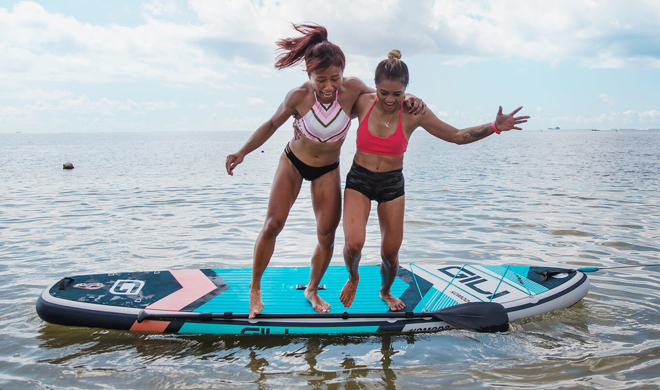 Learning to Fall off Your Paddle Board the Right Way