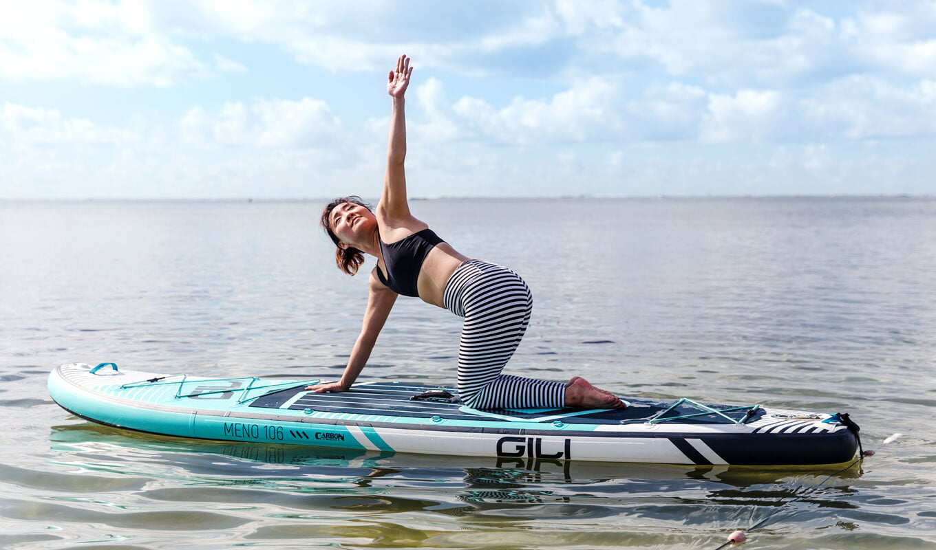GILI meno best paddle board for yoga SUP