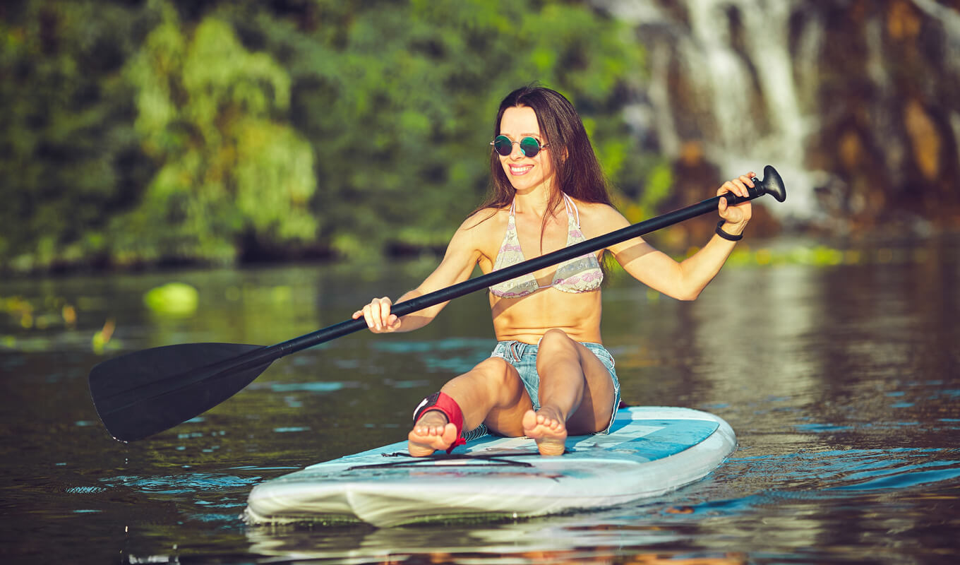 What is hard paddle board?