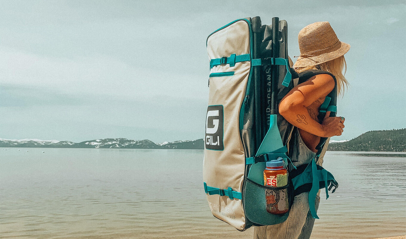 Easy to carry paddle board portability