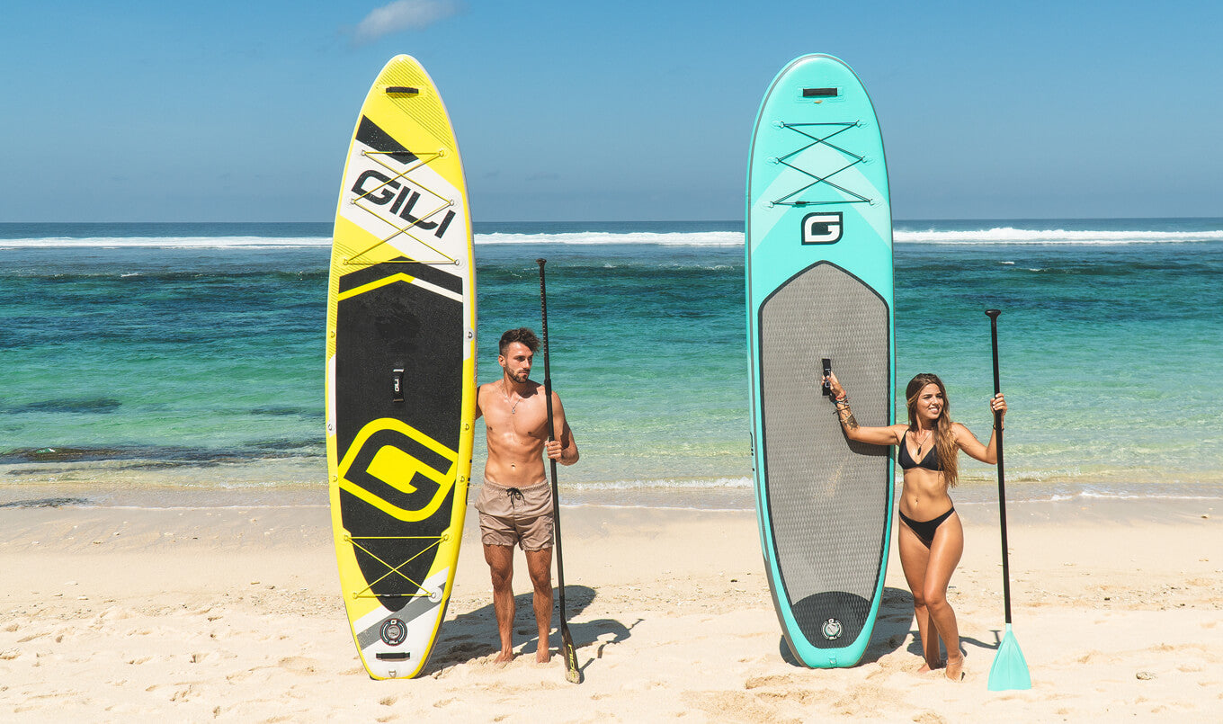 Paddle Boards come in different shapes and sizes