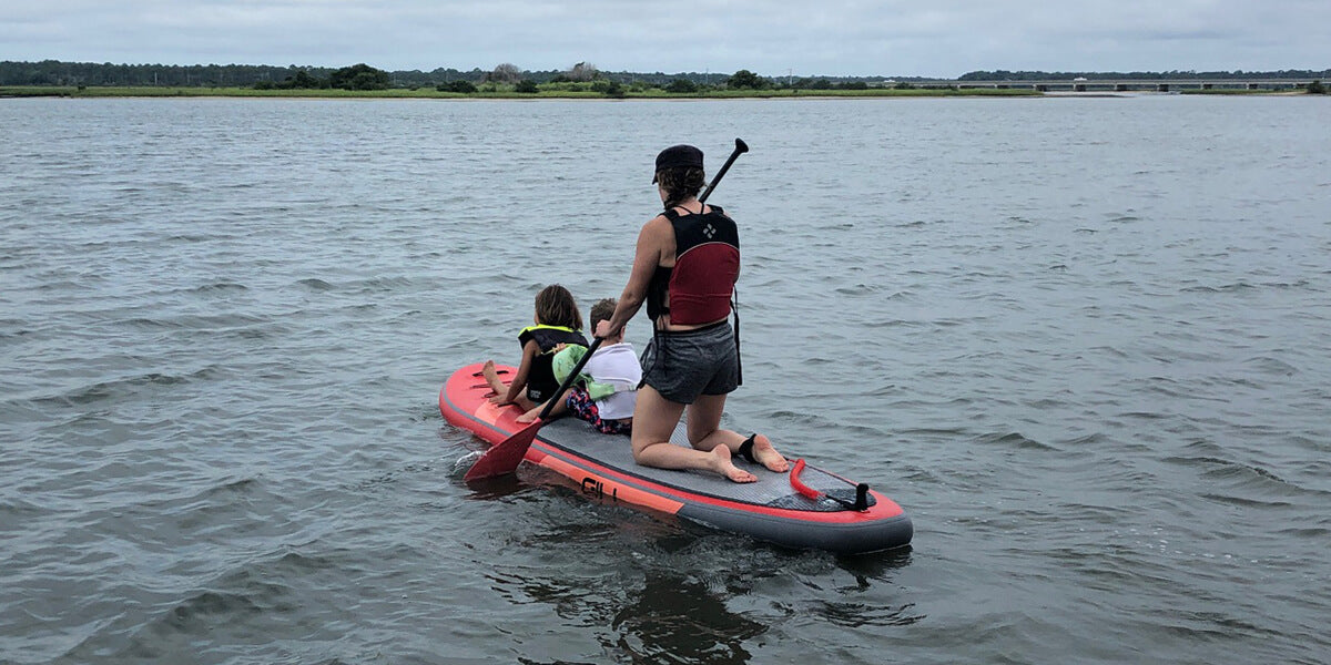 Paddle Boarding with Your Kids