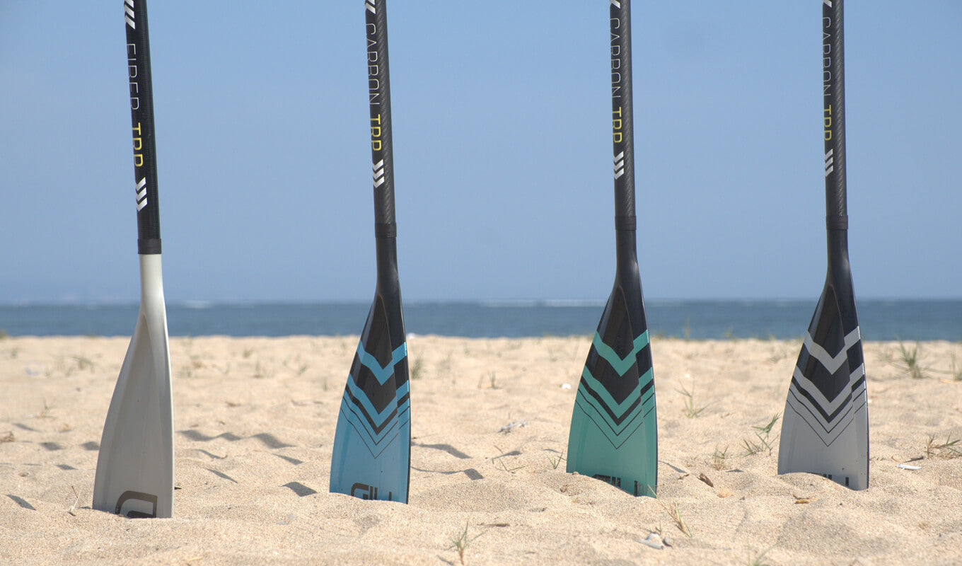 Properly sizing your SUP paddles