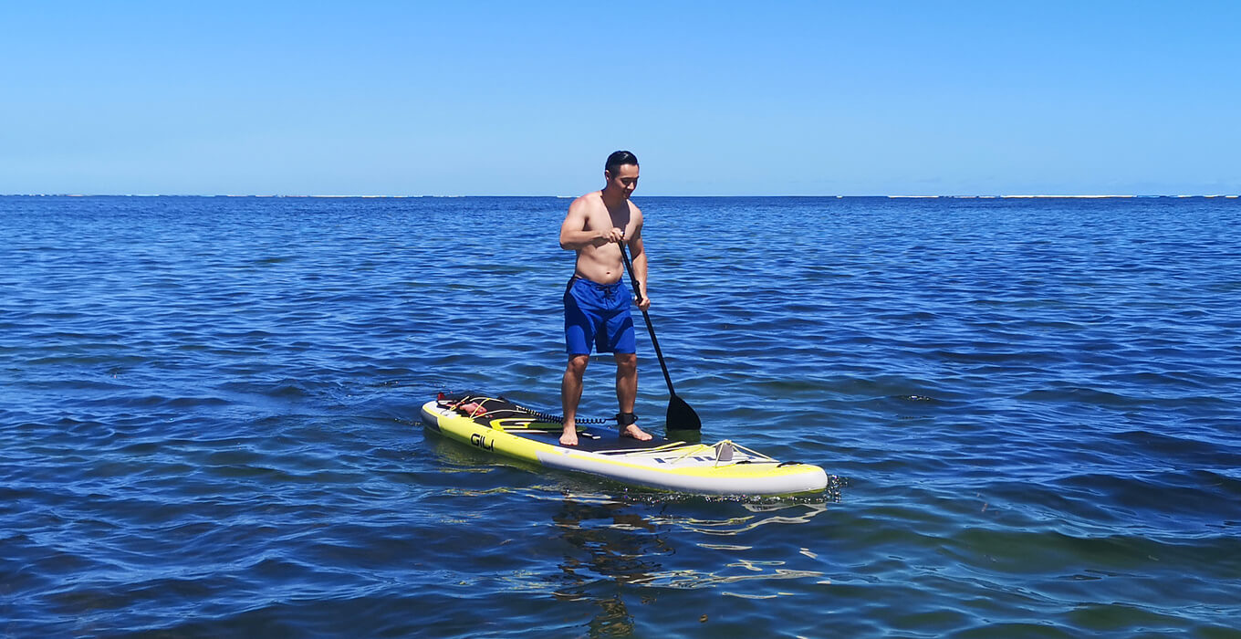 Practice Balancing Your Paddle Board