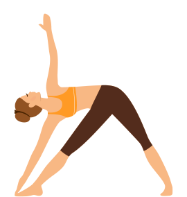 Triangle Pose Yoga