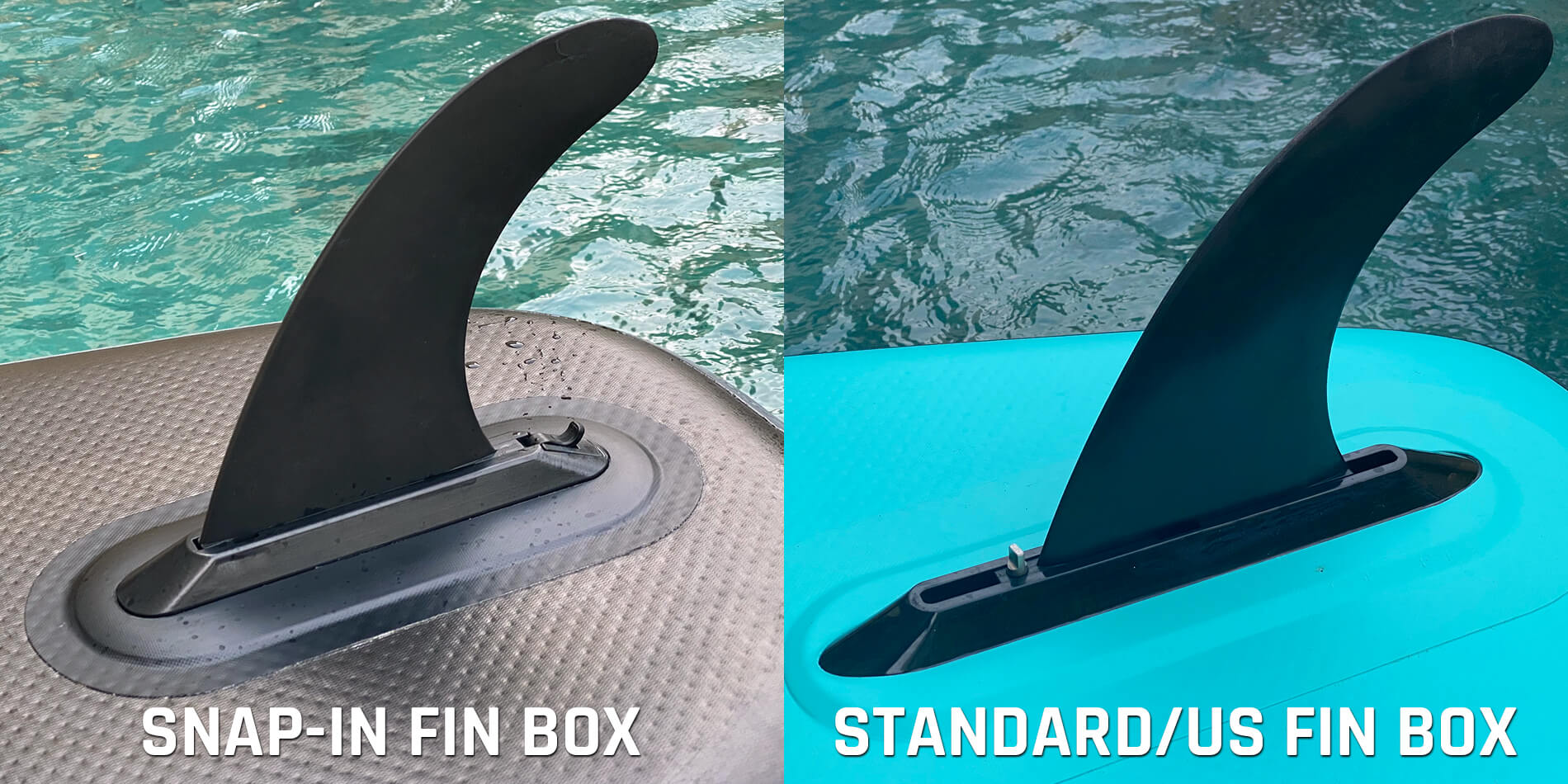 Snap in Fin box vs Standard US Fin box
