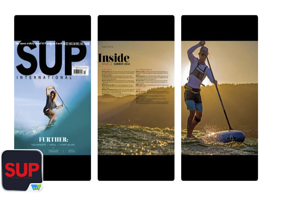 SUP International App for SUP