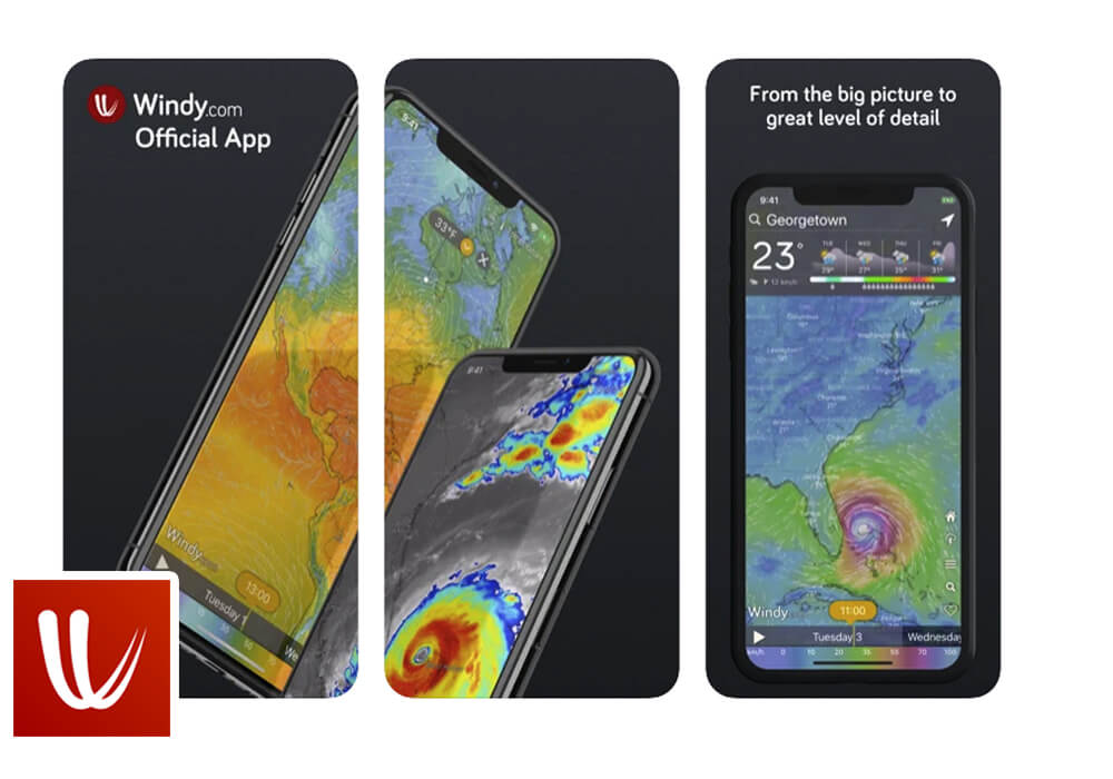 Windy App for SUP