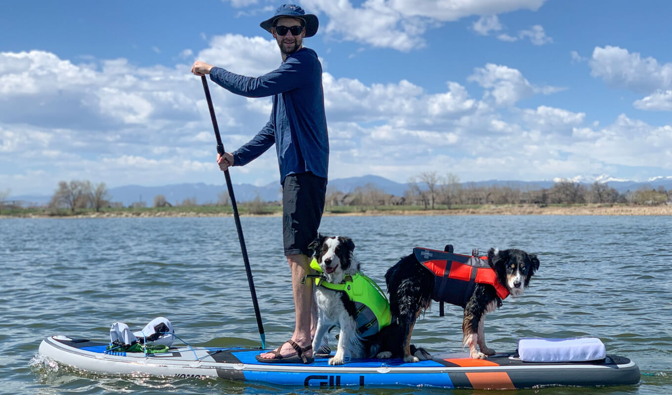 Wear a PFD for SUP Safety