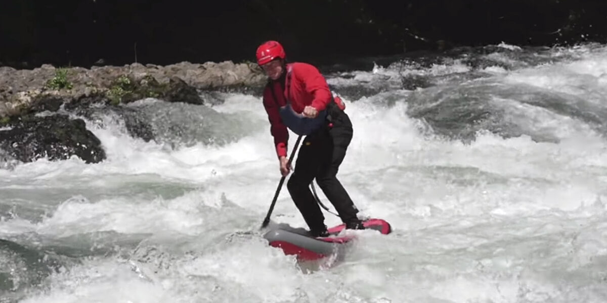 White Water Paddle Board