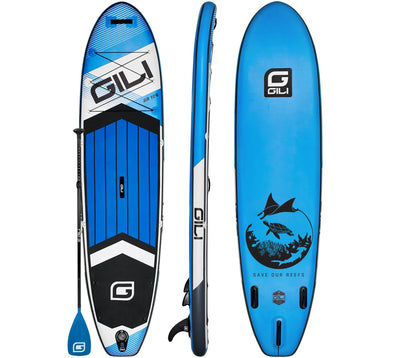 10'6 GILI AIR 10'6 Inflatable Paddle Board - Blue