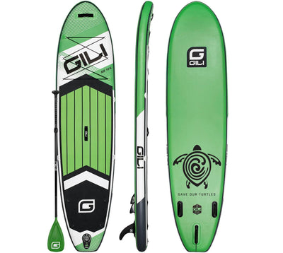 10'6 GILI AIR Inflatable Paddle Board (Green)