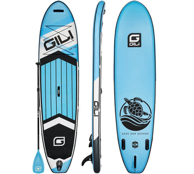 10'6 GILI AIR Inflatable Paddle Board (Light Blue)