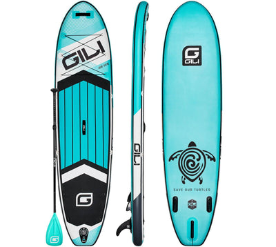 10'6 GILI AIR Inflatable Paddle Board (Teal)