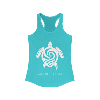 Women's Save Our Turtles Racerback Tank