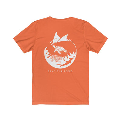 Save Our Reefs Unisex Short Sleeve Tee