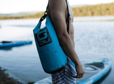 GILI Waterproof Dry Bag in Blue