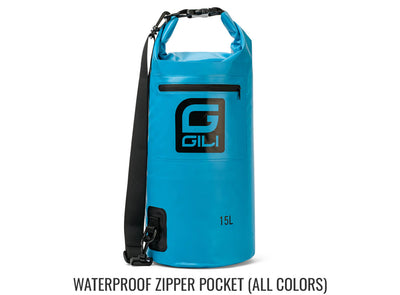 GILI Waterproof Dry Bag Rear Pocket