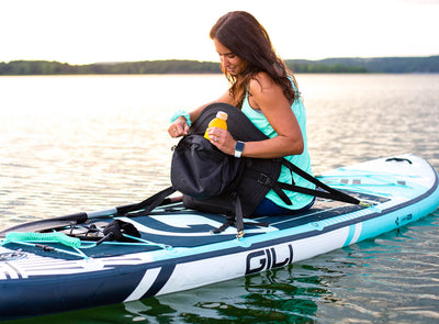 GILI Kayak Seat with Rear Backpack - Turn your SUP Into a Kayak