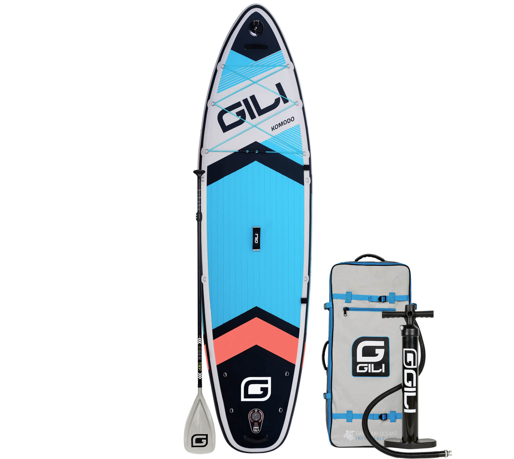 GILI Komodo Inflatable Paddle Board Package