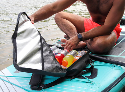 GILI Paddle Board Cooler Deck Bag in Use