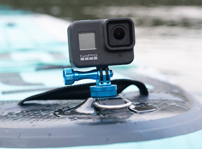 Go Pro/Action Camera Adapter Mounted