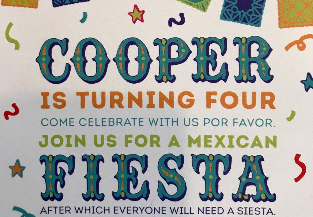 Cooper's Fiesta Birthday, Part 2