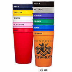 22 ounce custom stadium cups