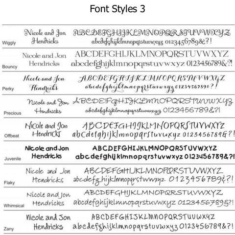 Font Options Page 3