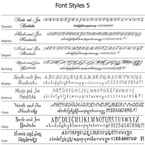 Font Options Page 5